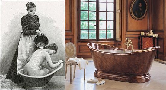 Throughout The 19th Century, Hip Tubs Were Replaced By The Full Sized Tubs We Have Today