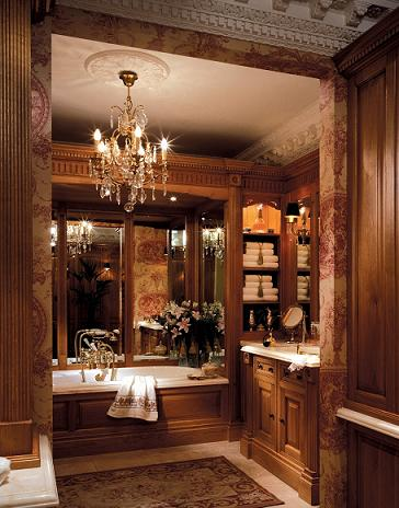 Victorian Bathrooms Tended To Feature A Whole Lot Of Wood
