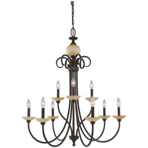 The Montclaire Chandelier from Sea Gull