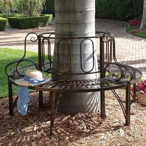 Roundabout Garden Bench FZ50507 from Toscano