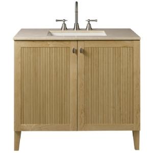 "Porcher - Archive 36"" Bathroom Vanity in Maple"