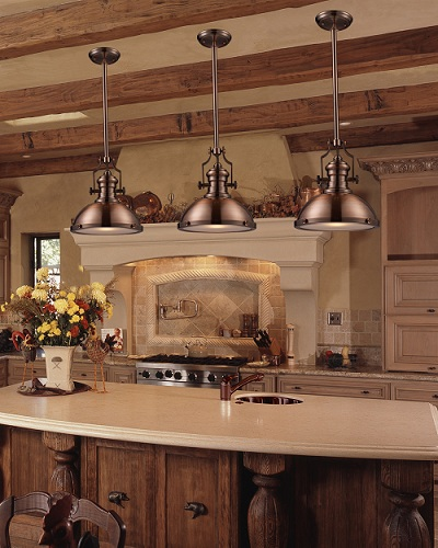 Go Bold With Big Industrial Style Pendant Lights For Your
