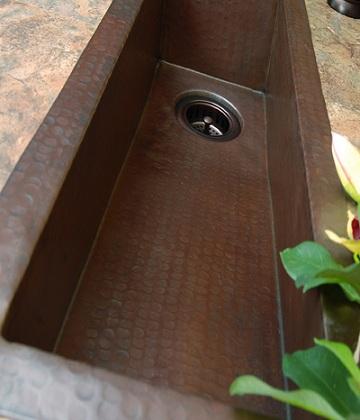 Allegany Trough Bar Sink From Sierra Copper