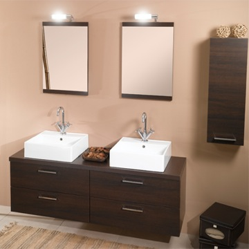 Aurora A11 Double Vanity From Iotti