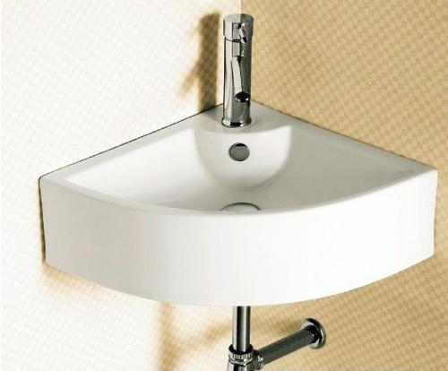 Ceramica Corner Bathroom Sink