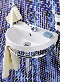 China Series Wall Mounted Bathroom Sink From Whitehaus