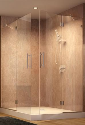Dresden Frameless Shower Door From Roda By Basco