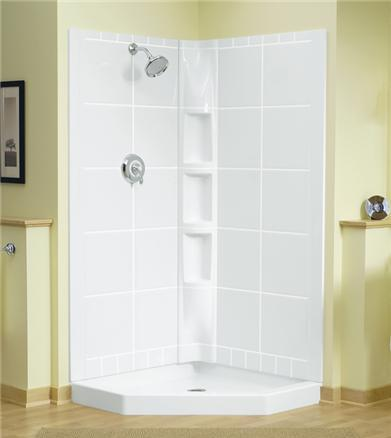 Ordinaire Intrigue Neo Angle Shower From Sterling
