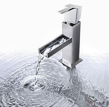 Kuatro Cascade Faucet From Ramon Soler