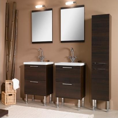 Luna Dual Sink Vanity Set From Iotti