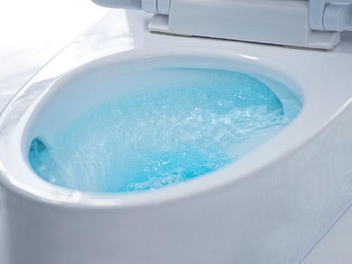 Cedar Dual Flush Toilet From INAX