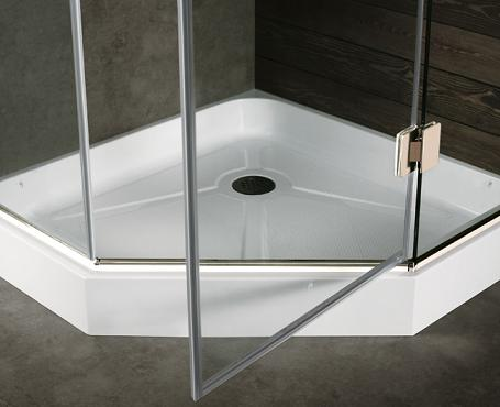 Neo Angle Shower Base From Vigo Industries