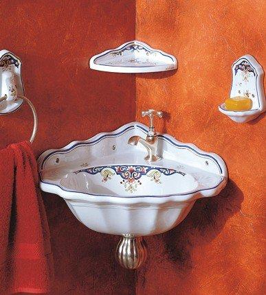 Neptune Corner Handbasin And Accessories From Herbeau