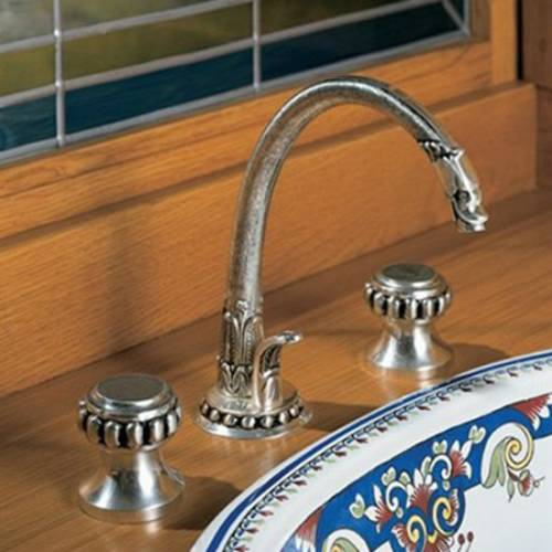 Pompadour Widespread Lavatory Faucet From Herbeau