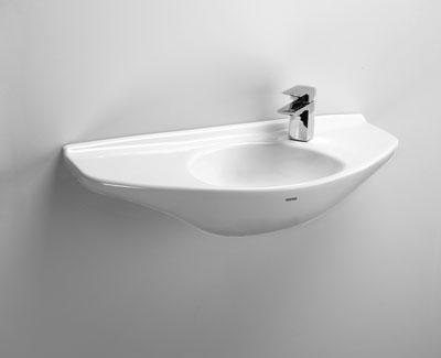 Sanagloss Wall Mounted Bathroom Sink From Toto