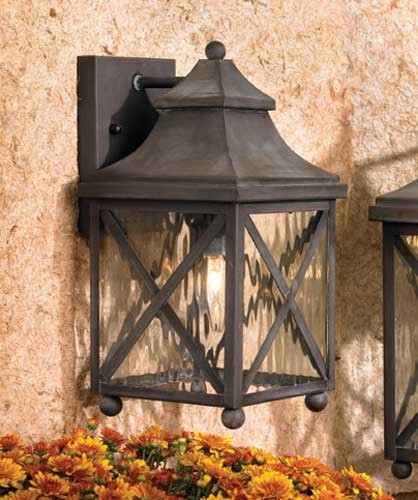 Outdoor lighting fixtures to brighten your home and wow your neighbors west bay street lantern style outdoor light from artistic lighting aloadofball Images