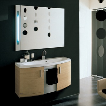 Dune ND2 Backlighted Mirror And Vanity From Iotti