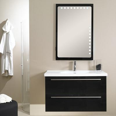 Fly FL7 Backlighted Mirror And Vanity From Iotti