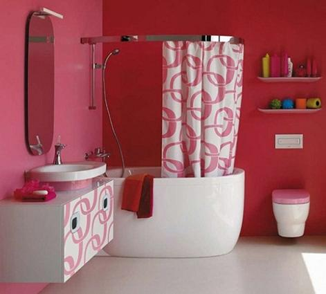Mimo Bathroom Collection In White And Pink From Laufen