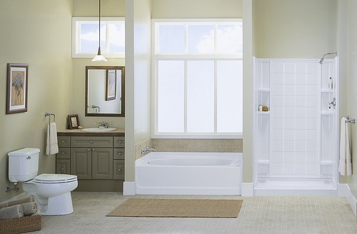 Natural Neutral Bathroom Design By Kohler
