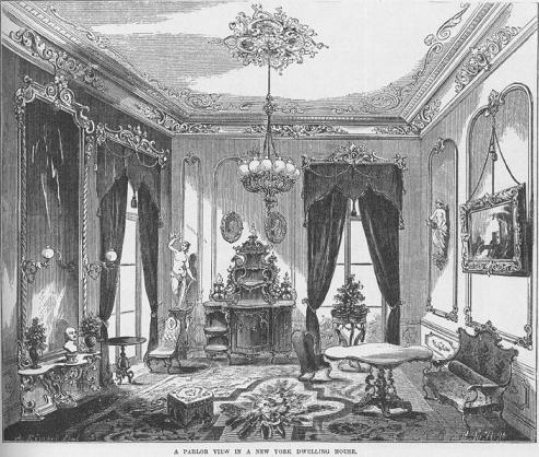 Opulent Victorian Era Parlor