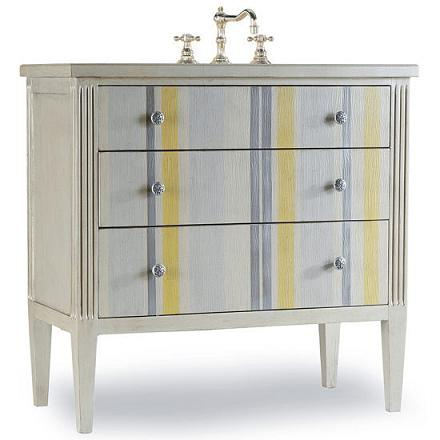 Seaside Bathroom Vanity From Cole and Co