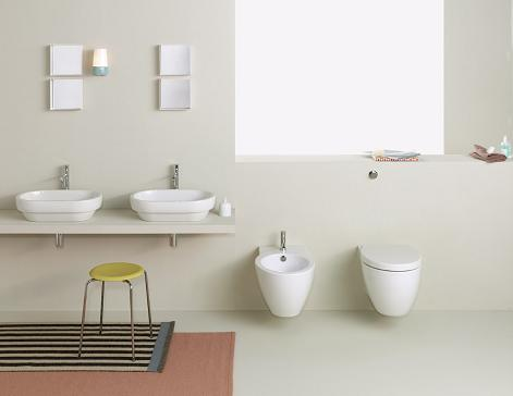Simple Sleek Bathroom Design By GSI