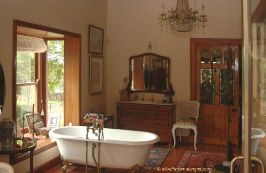 Victorian Bathrooms Were Often Also Dressing Rooms