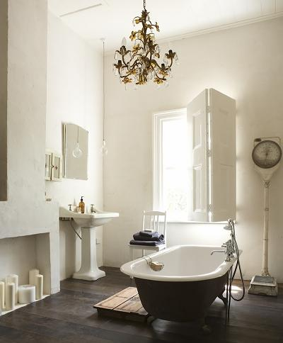 Wide Open Bathroom In Neutral Tones