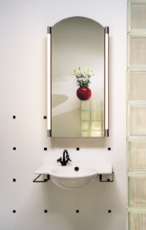 Arch Mirror With Built In Defogger