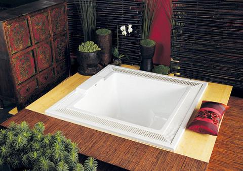 Beverly Vista Infinity Tub From Americh