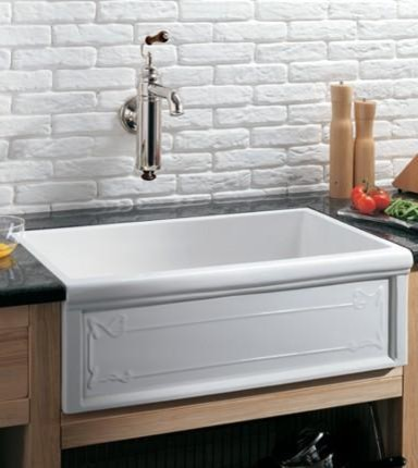 Luveron Art Nouveau Fireclay Farmhouse Sink From Herbeau