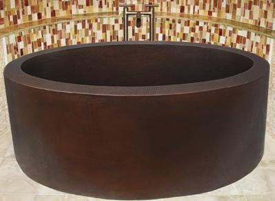 Providence Copper Japanese Soaking Tub From Sierra Copper