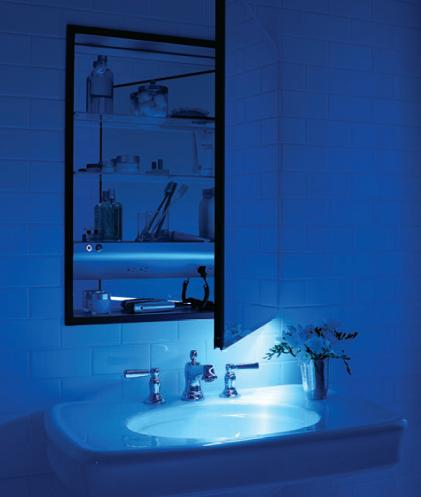 Robern M-Series Medicine Cabinet With Built In Night Light