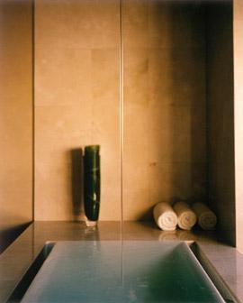Sok Infinity Tub From Kohler With Ceiling Mount Tub Filler
