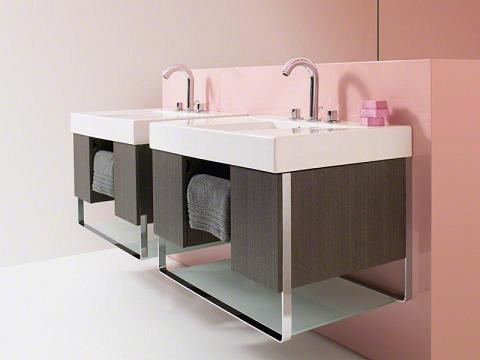 traverse wall mounted bathroom vanities from kohler - Wall Mounted Bathroom Vanity