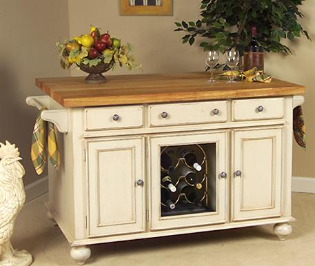 A La Carte Kitchen Island From Kaco