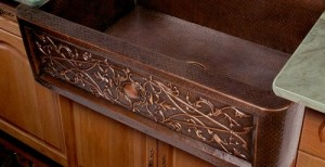 Copper Farmhouse Sink From Artisan