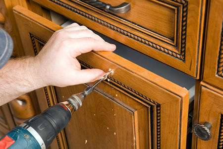 DIY Kitchen Cabinet Knobs - Even Easier If You're Replacing Rather Than Installing For The First Time