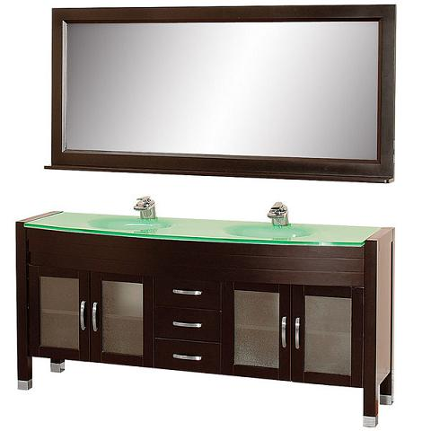 Daytona Double Bathroom Vanity Set From The Wyndham Collection