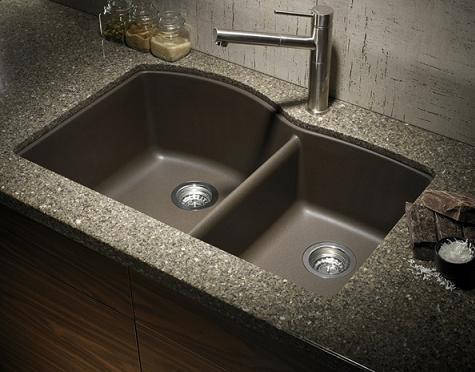 Diamond Silgranit Kitchen Sink From Blacno