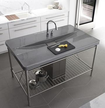 Iron Occasions Kitchen Island From Kohler