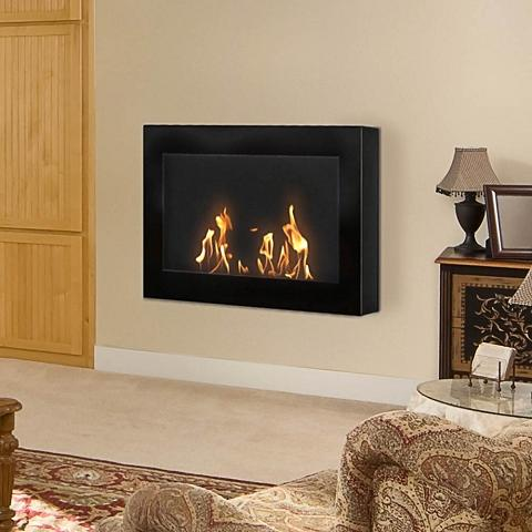 SoHo Ventless Wall Mount Fireplace From Anywhere Fireplace