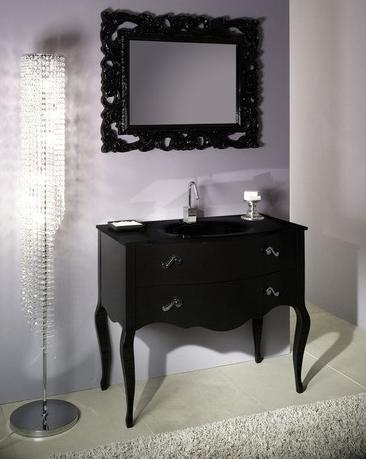 Boheme Black Bathroom Vanity From Iotti
