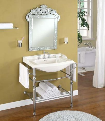 Metal Console Vanity From Empire Industries