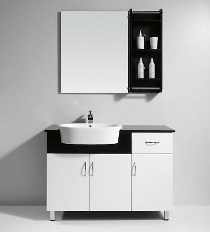 Modern White Bathroom Vanity From Legion Furniture