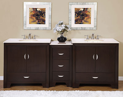 Modular Modern Double Vanity From Silkroad Exclusive