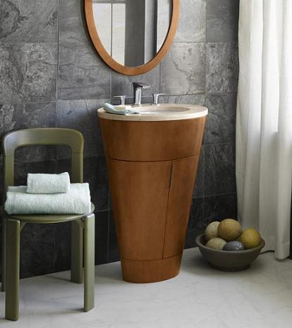 Leonie Modern Wood Bathroom Vanity From Ronbow