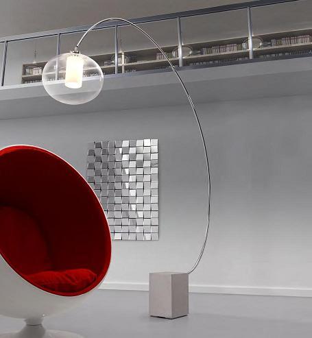 Plasma Floor Lamp From Zuo Modern
