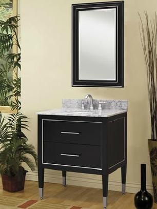 Richview Black Bathroom Vanity From Sagehill Designs